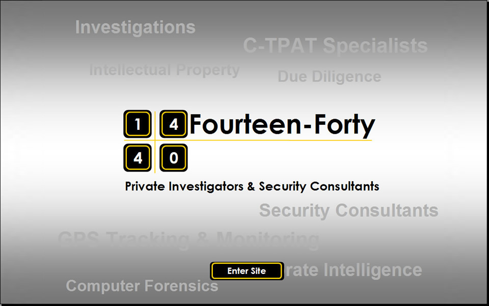Fourteen-Forty - Toronto Private Investigators & Security Consultants